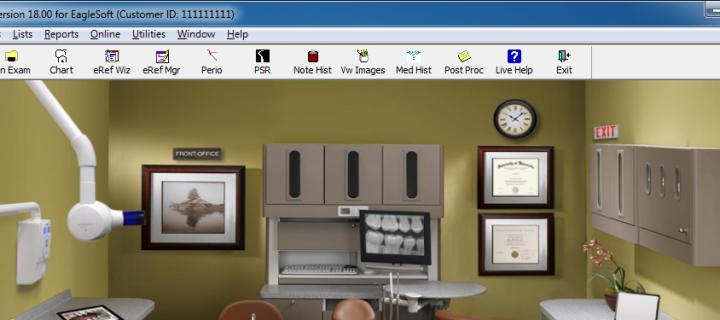 Intraoral Camera Software for Eaglesoft