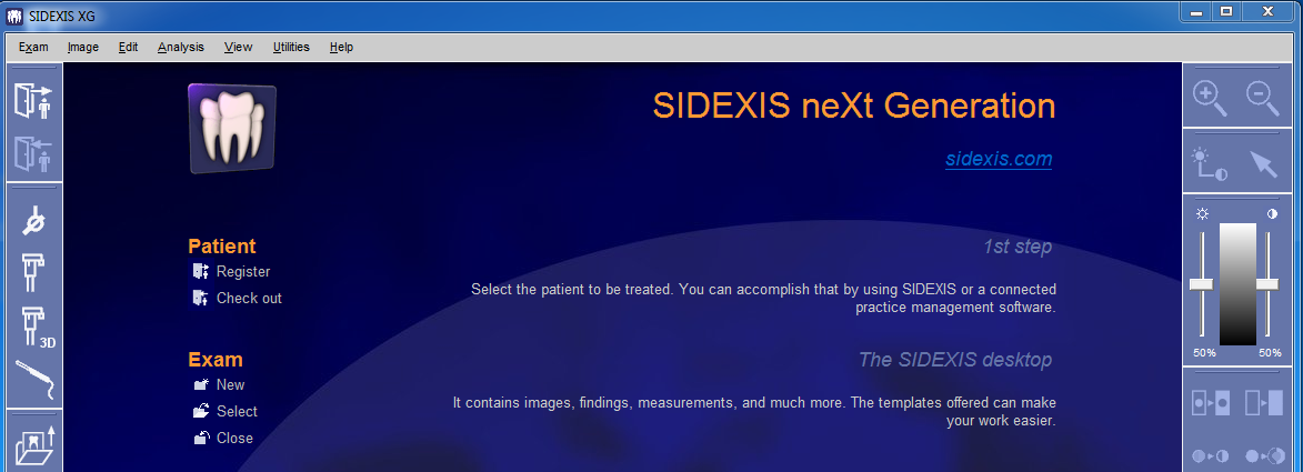 Intraoral Camera Software for Sidexis XG